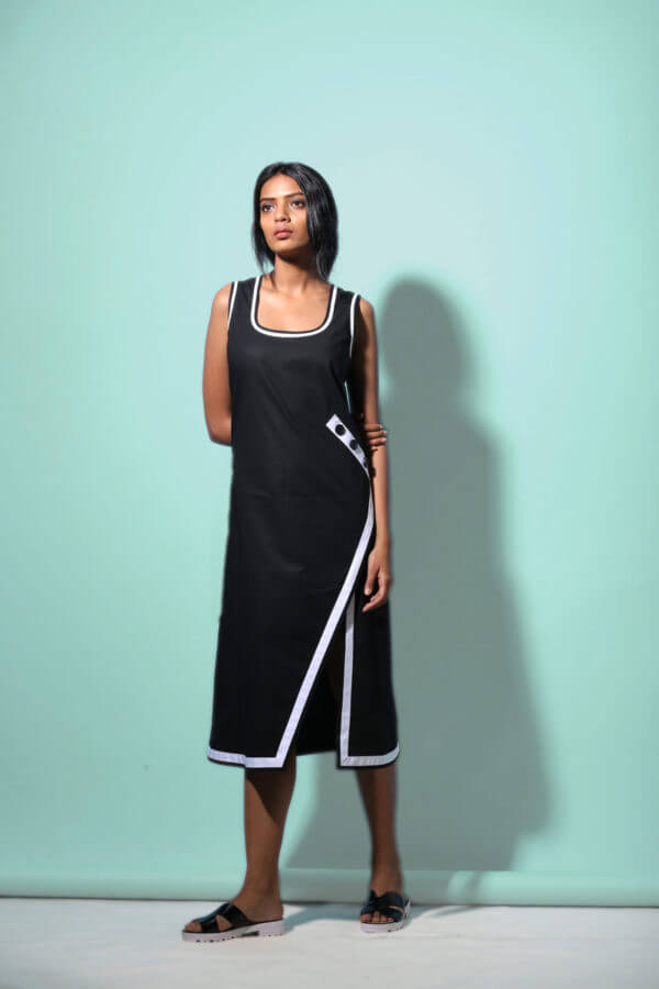 Echo Slit Open Dress (SKU: ES1701)