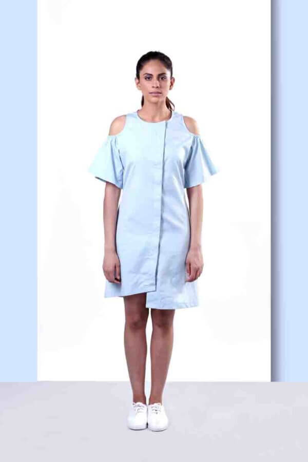 Echo Overlap Dress (SKU:EC06)