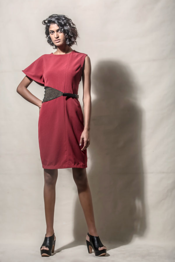 Echo Single Sleeve Dress (SKU:Ech10)