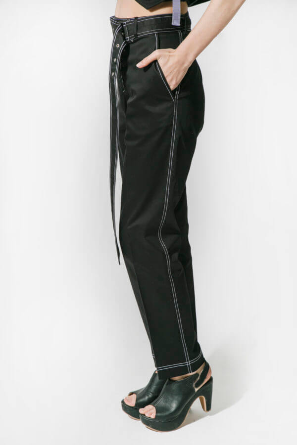 Black Outline Pant (SKU : ES1810)