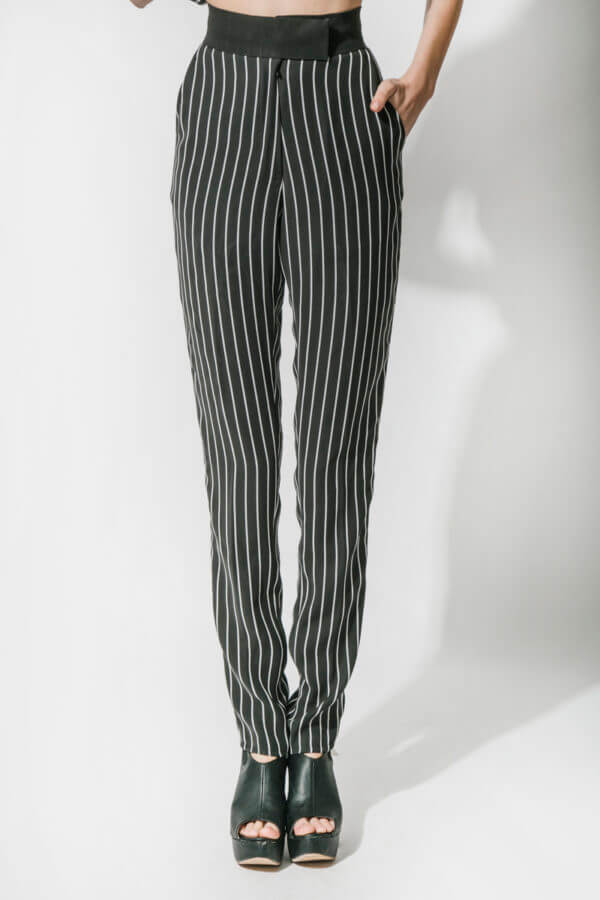 Black Stripe Pant (SKU:ES1804)